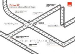 SYSTEMS OF LADDER CABLE TRAYS E-Line-KC