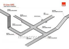 Systems of cable trays E-LINE UK