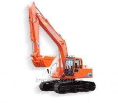 Excavators multibucket trench rotary