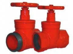 Fireplug valve direct-flow KPK-50 180