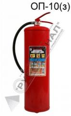Fire extinguishing means