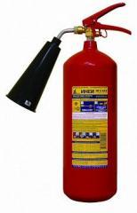 Portable fire extinguisher OU - 3