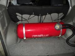 Car gas equipment