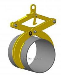 Capture for cylindrical (round) freights of YG 01