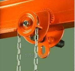 Trolleys for mobile hoists