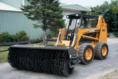 Equipment for municipal equipment, road brushes