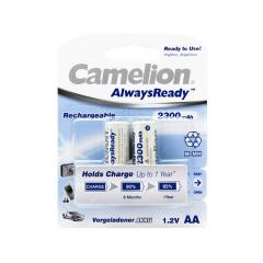 CAMELION AlwaysReady Rechargeable NH-AA2300ARBP2