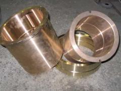 Plug of bronze 100 GOST 613-79, GOST 493-79, brand