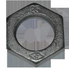 Контргайка чугунная 40 ГОСТ 8961-75, оцинкованная