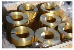 Tape of brass 0.05 GOST 2208-91, brand l63
