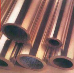 Труба бронзовая 34x4.5 ТУ 48-21-39-79, марка браж