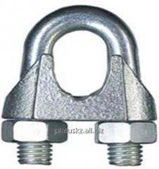 The clip is rope, galvanized DIN741 34 mm
