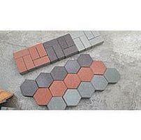 Paving slabs hexagon