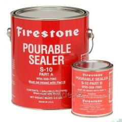 Liquid Pourable Sealer S 10 sealant of Part A and