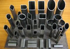 Pipe profile corrosion-proof 10x10x1 Opaque, AISI