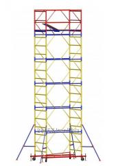 MOBILE SBORNO FOLDING CONSTRUCTION TOWER OF