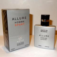 The perfumed ARTIS toilet water of 28 ml ALLURE