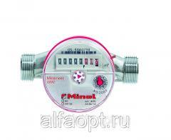 Счетчик воды СВГ Миномесс, 90°C, DN 15, Qn 1,5, L 110 mm, с присоед.