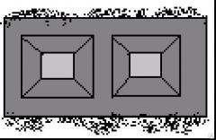 Камень бетонный стеновой облицовочный СБУ 2