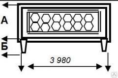 Panel of reinforced concrete P 6 BK 3980x2200x700