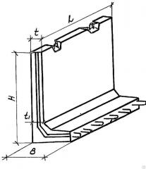 A-shaped design for vodokhoz. a str-va of -