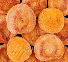 The peach dried