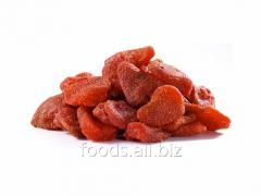 The strawberry dried