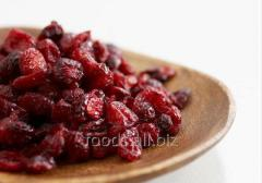 The cranberry dried