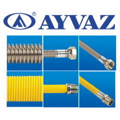Flexible metal hose of AYVAZ