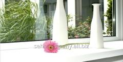 Window sills from PVC
