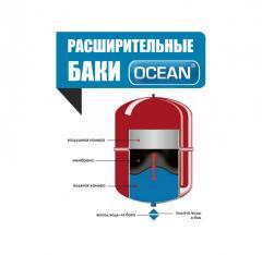 Broad tanks of Ocean