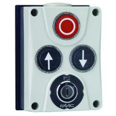 402500 The XB300 3x control panel push-button with