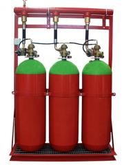 Gas for fire fighting
