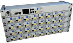 Indicaton and control panels