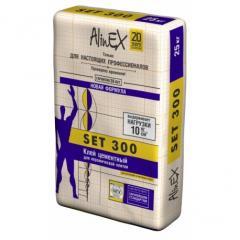 Клей цементный AlinEX SET 300 25 кг