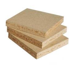 Tablas de madera y virutas, de madera y fibra