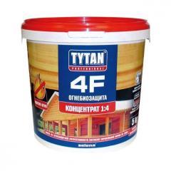 Ognebiozashchita Tytan 4F, red, 5 liters