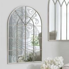 Transparent and colourless stained-glass windows