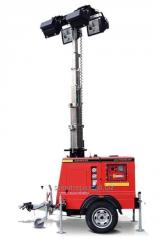 Lighting mast of Compact Standard M5
