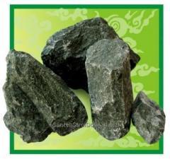 Stones for sauna ovens