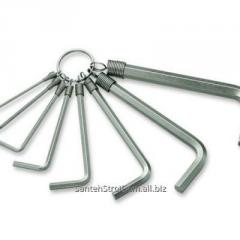 Hexahedral wrenches