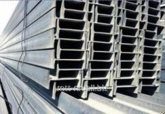 Балка двутавровая 100Б2 сталь С345, 09Г2С-14,