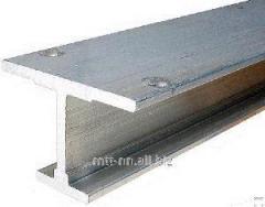 Балка двутавровая 100Ш1 сталь С345, 09Г2С-14,