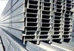 20K2 steel i-beam with 345, flanged, welded,