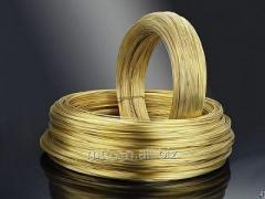 Brass wire Stael 0.1 HP 59-1, GOST 1066-90