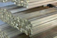Square stainless steel 10 steel 12Х18Н10Т,