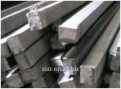 Квадрат нержавеющий 25 сталь 20Х23Н13, 08Х21Н6М2Т,
