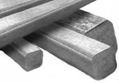 Квадрат нержавеющий 27 сталь 12Х18Н10, 08Х18Н10,