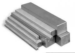 Квадрат нержавеющий 46 сталь 20Х23Н13, 08Х21Н6М2Т, 08Х22Н6Т, жаропрочный, ГОСТ 8559-75