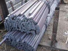 Квадрат нержавеющий 48 сталь 08Х17Т, 08Х13, 15Х25Т, 12Х13, AISI 409, 430, 439, 201, ферритный, ГОСТ 2591-2006